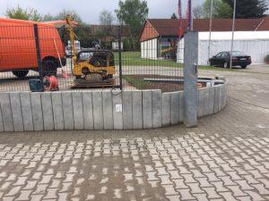 Erneuerung der Außenanlage in Bad Belzig