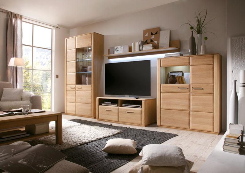 Wohnwand Sena - Kranepuhls optimale Möbelmärkte