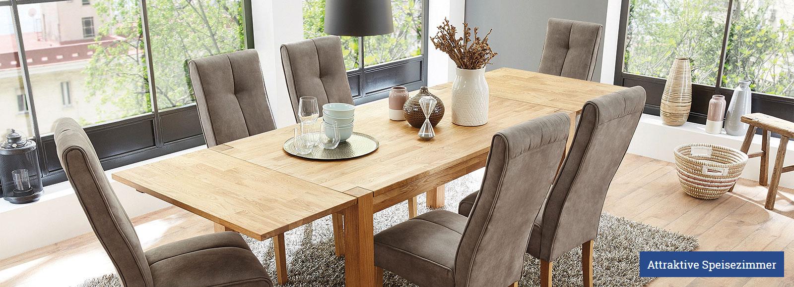 Attraktive Speisezimmer - günstig kaufen bei Kranepuhl's Optimale Möbelmärkte