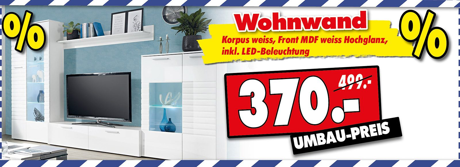 Satte Umbau-Rabatte bei Kranepuhls Optimale Möbelmärkte in Nuthetal!
